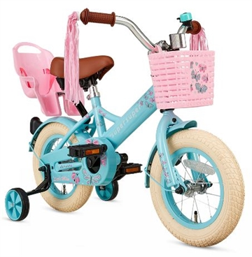 12T pigecykel Little Miss supersuper turkis
