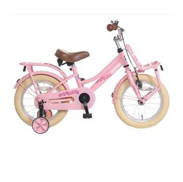 14 Tommer cykel Cooper pink