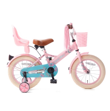 14T pigecykel Little Miss roze