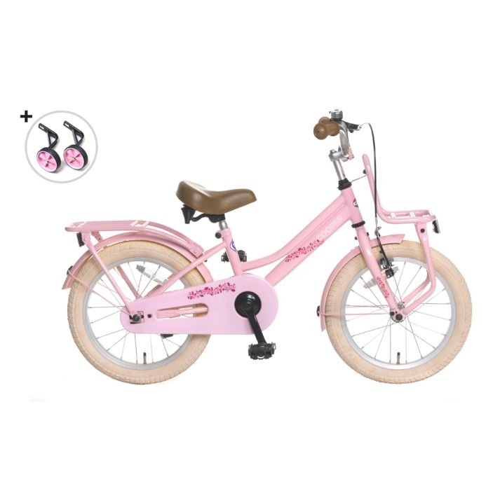 16 tommer cykel Cooper pink