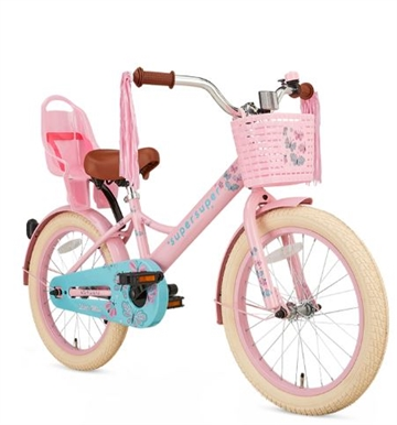18T pigecykel Little Miss supersuper roze