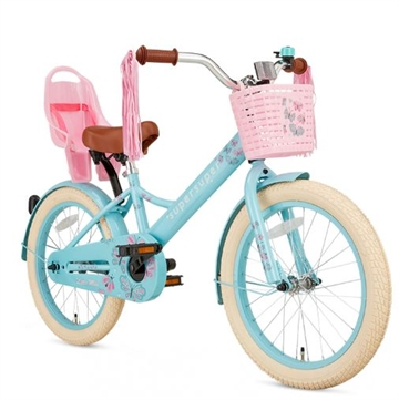 18T pigecykel Little Miss supersuper  Turquoise