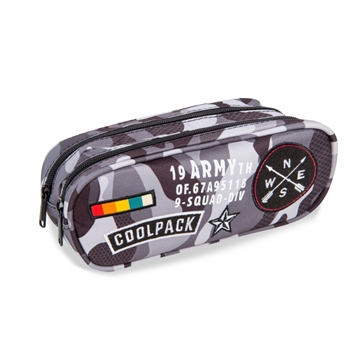 Coolpack Army penalhus med 2 rum