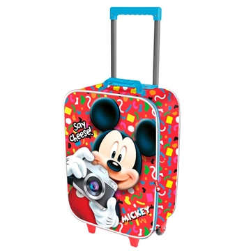 Disney Mickey 3D trolley kuffert 2 hjul 52 cm
