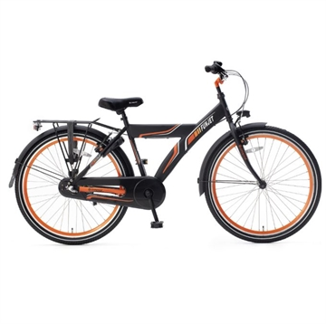 Popal drengecykel Funjet N3 26 T sort orange