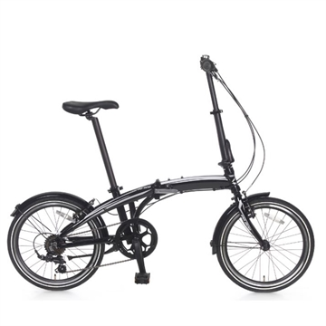 "20 ""Popal foldecykel Subway 6 gear sort"