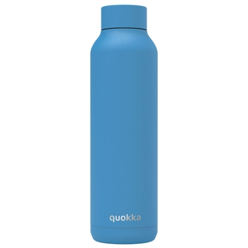 Quokka Solid stålflaske Bright Blue Powder 630 ml
