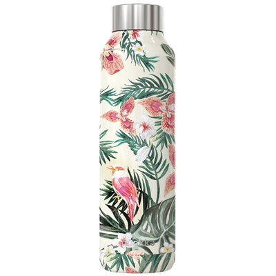 Quokka Solid stålflaske Jungle Flora 630 ml