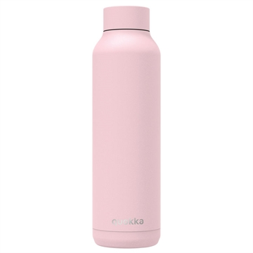 Quokka Solid stålflaske Quartz Pink Powder 630 ml
