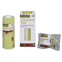 Tape Scotch 550 klar 19x66m