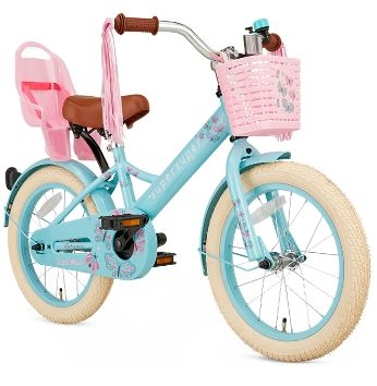 16T pigecykel Little Miss supersuper turkis