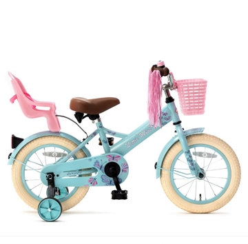14T pigecykel Little Miss turkis